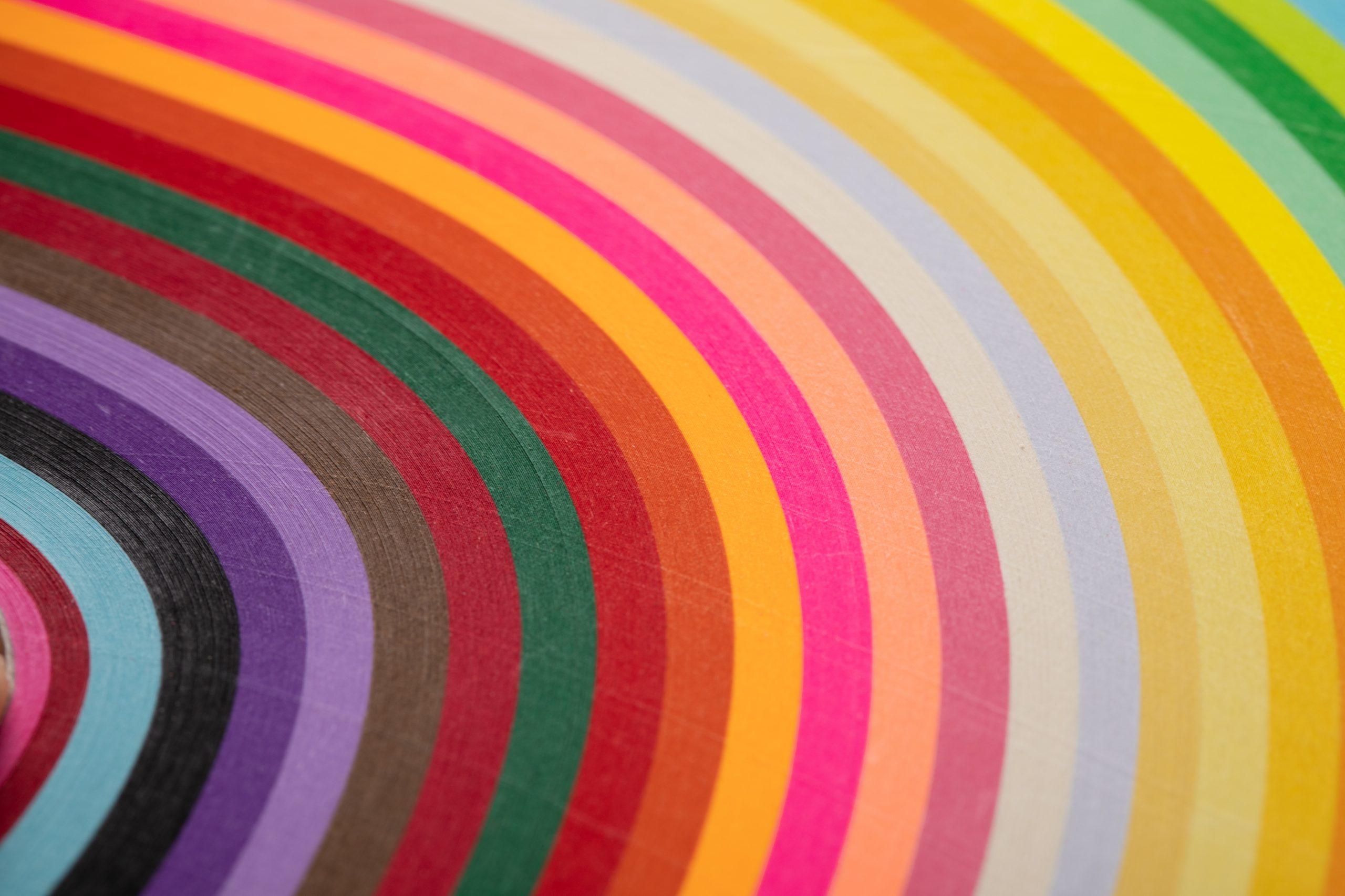 数字能量学颜色,数字1-9对应的颜色